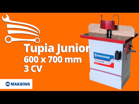 Tupia Junior com Chapa Reforçada 3CV Trifásica 600 x 700 mm - Video
