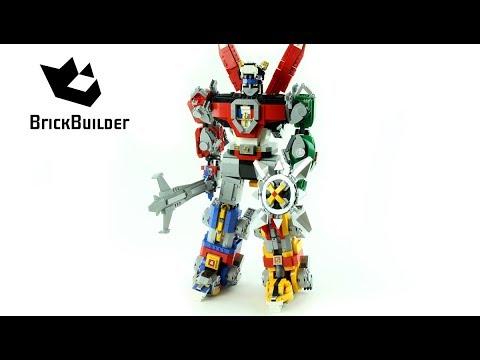 Vidéo LEGO Ideas 21311 : Voltron