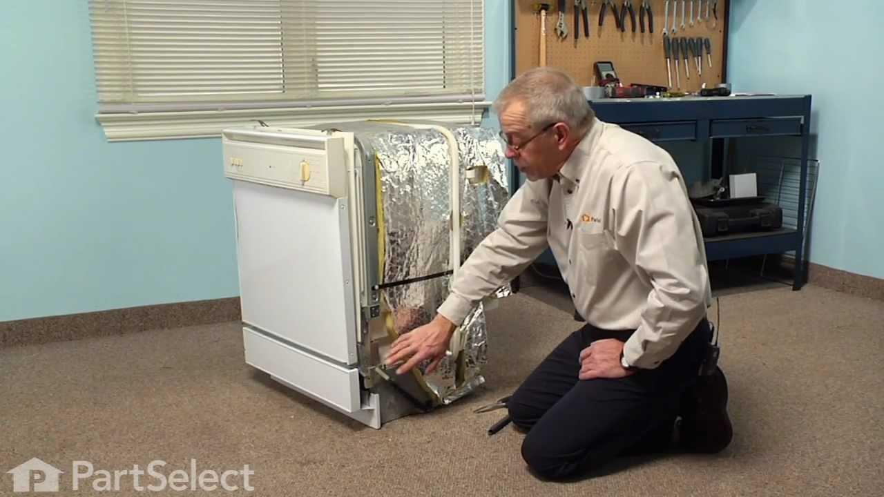 Replacing your Maytag Dishwasher Door Spring