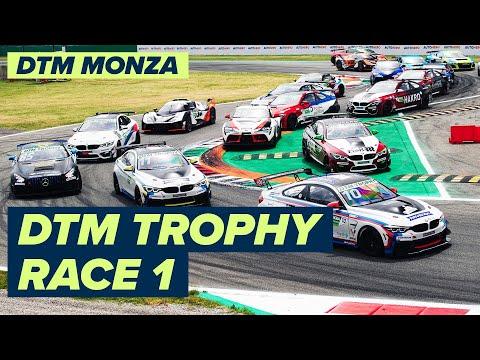 DTM モンツァ(イタリア) 決勝レース1のライブ配信動画