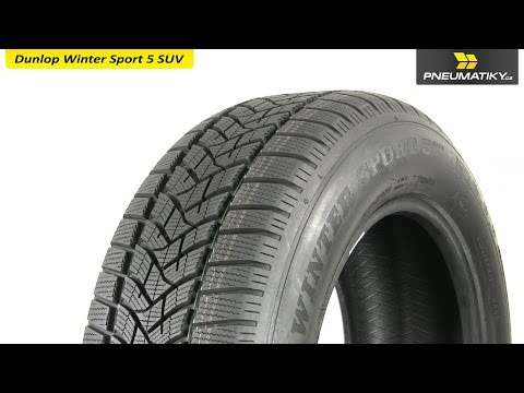 Youtube Dunlop Winter Sport 5 SUV 235/60 R18 107 V XL Zimní