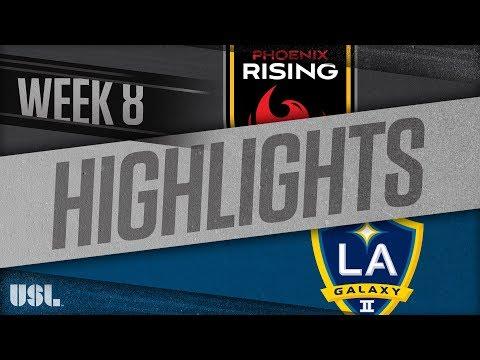 Аризона Юнайтед - LA Galaxy 2 4:3. Видеообзор матча 05.05.2018. Видео голов и опасных моментов игры