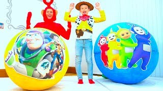 Huge Surprises Teletubbies Toy story