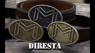 DiResta Cast Brass Buckle
