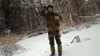 Ловля зимой хариуса на малых реках