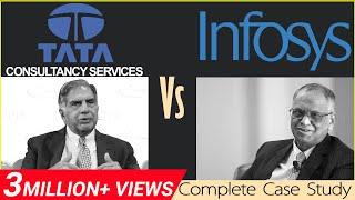 TCS Vs Infosys   Business Case Study in Hindi   Dr Vivek Bindra