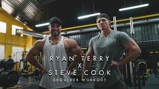 RYAN TERRY x STEVE COOK OLYMPIA WORKOUT