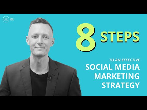 , title : '8 Steps To An Effective Social Media Marketing Strategy In 2021!