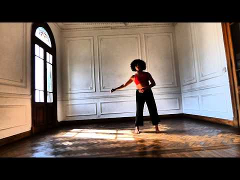 A dance performance in Buenos Aires by Mariana Ave, Music by Lenna Pierce on cello and voice, and Marcus Cummins on saxophone.