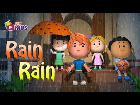 Rain Rain Go Away Come Again Another Day with lyrics | LIV Kids Nursery Rhymes and Songs | HD