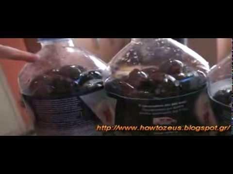 Φτιαξτε ευκολα και χωρις κοπο βρωσιμες ελιες