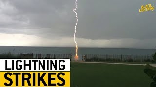 Unbelievable Lightning Strikes || JukinVideo