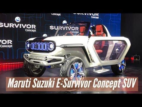 Maruti Suzuki E Survivor concept SUV | Auto Expo 2018