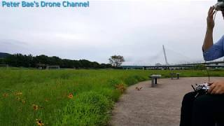 #24-1 Racing drone FPV freestyle flight practice 레이싱 드론 FPV 프리스타일 비행연습