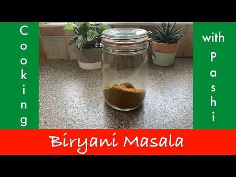 EASY and HOMEMADE Biryani Masala Recipe | Urdu-Hindi/English Subtitles | Cooking With Pashi