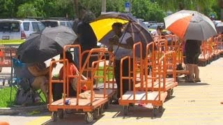HOME DEPOT INC. THE South Florida residents flock to Home Depot for supplies