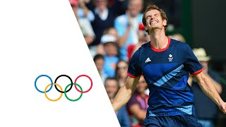 Andy Murray Wins Olympic Gold Medal v Roger Federer   London 2012 Olympics