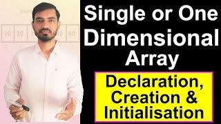 Arrays In Java - Single Dimensional (One Dimensional) Array by Deepak