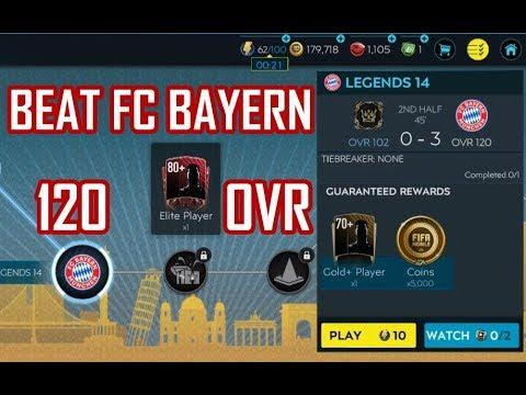 BEAT BAYERN MUNCHEN 120 OVR (LEGENDS III) | GAMEPLAY | FIFA MOBILE 20
