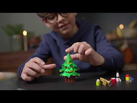 Vidéo LEGO Creator 10293 : La visite du Père Noël