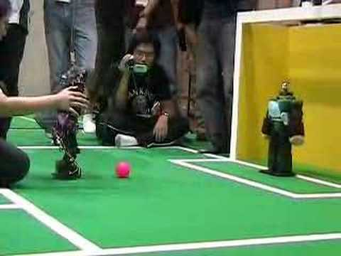 The Stupidest Robot Soccer Video