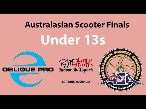 Lockie Coburn - ASA Australia Scooter Finals Under 13s