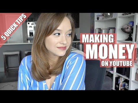 MAKING MONEY VLOGGING   5 TIPS TO GET STARTED ON YOUTUBE