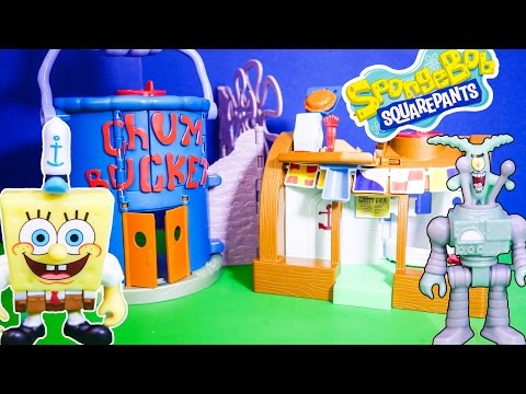 SPONGEBOB Squarepants the Imaginext Spongebob Krusty Krab