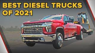 Best Diesel Trucks of 2021 - The Short List