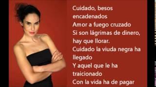 Besos encadenados (La Viuda Negra) Letra - #Samo