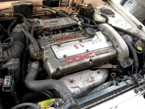 Фото к видео: Hyundai lantra 1.8 GT 16V Praca silnika (G4CN Hyundai = 4G67 Mitsubishi)