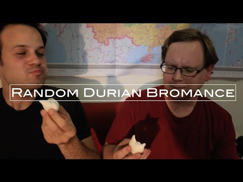 Random Durian Bromance w/ Trevor James | Eating Durian Cream Puffs in Chengdu