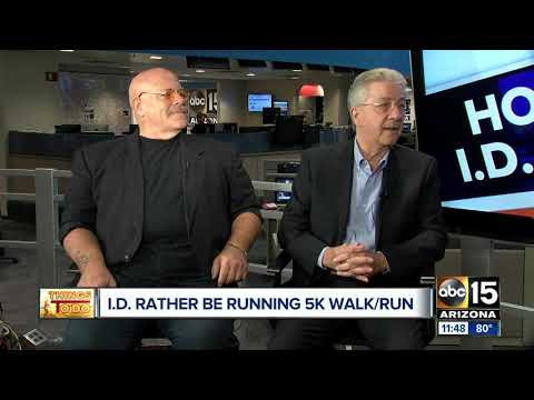 I.D. Rather Be Running 5K event
