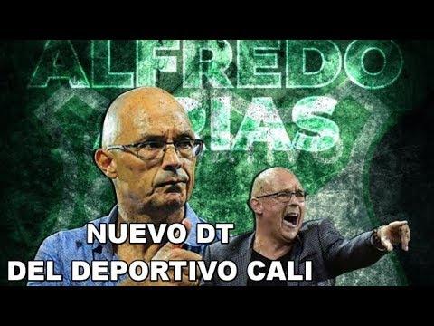 Alfredo Arias, nuevo Director tecnico del Deportivo Cali. Conocelo.