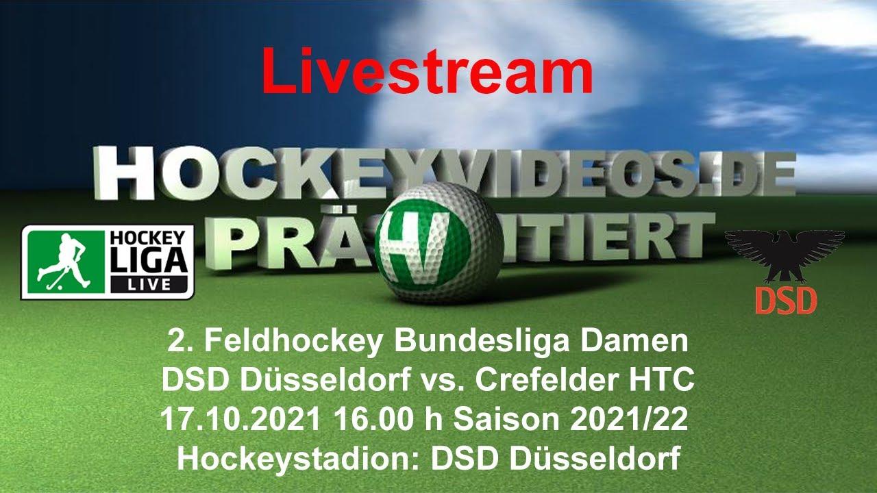 17.10.2021, 16:00 Uhr: Damen: DSD Düsseldorf vs. Crefelder HTC