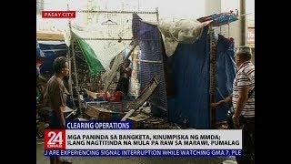 Mga paninda sa bangketa, kinumpiska ng MMDA; ilang nagtitinda na mula pa raw sa Marawi, pumalag