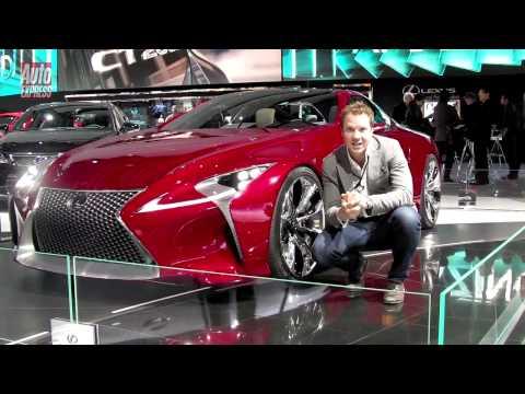 Detroit Motor Show 2012 Lexus LF-LC Concept - Auto Express