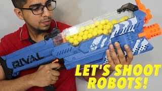 UNBOXING & LETS PLAY! - Nerf Rival NEMESIS - MXVII‑10K BLASTER ‑ FULL REVIEW!
