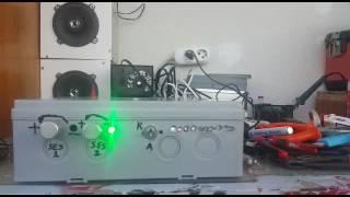 TDA 8560 2x40 Watt anfi test