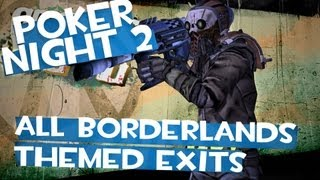 Poker Night 2 - All Borderlands Themed Special Elimination Animations (Heyooo Steve)