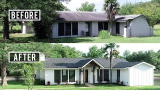 Modern Farmhouse Renovation | Before & After