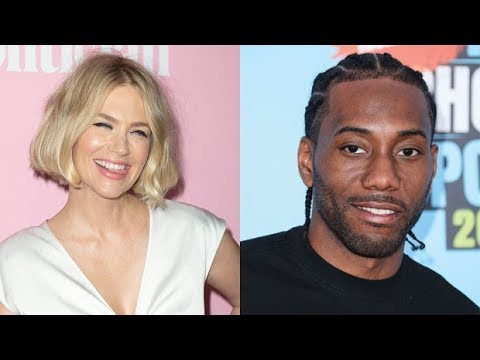 January Jones Shoots Her Shot With LA Clippers Star & 'Future Boyfriend' Kawhi Leonard