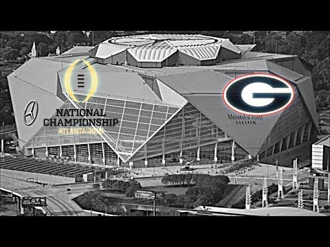 Georgia Football National Championship Hype Vs. Alabama |
