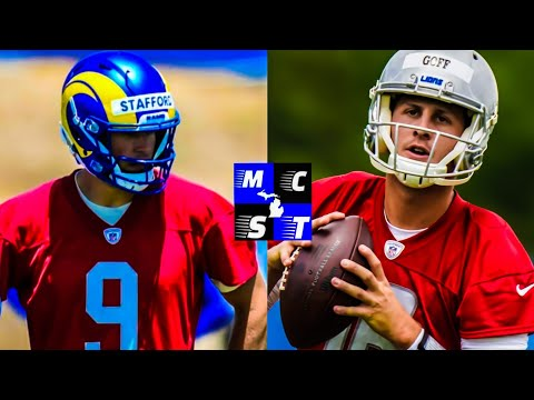 Here's Where Detroit Lions Improve Picking Up Jared Goff & Dropping Matt Stafford!!!