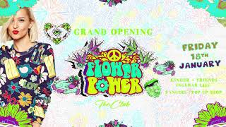 The Club Oslo Flower Power Opening Party