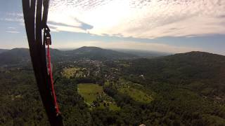 preview picture of video 'Paragliding in Baden-Baden am 16.06.2013'