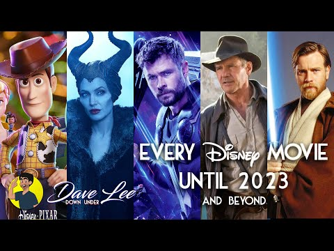 Every DISNEY MOVIE Until 2023 Announced (including Marvel, Star Wars, Indiana Jones, Remakes)