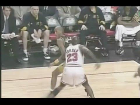 Jordan shuts down Reggie Miller - 0 pts in 4th qtr - 1998 ECF Game 7
