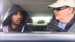 preview picture of video 'GAZ REYNOLDS AND MUSTAFA IN EDGWARE TRAINING FOR THE UK DRIVING TEST'