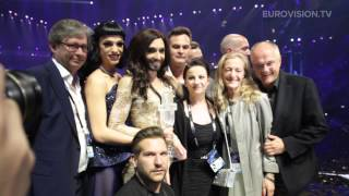 Austria is the winner of the 2014 Eurovision Song Contest!